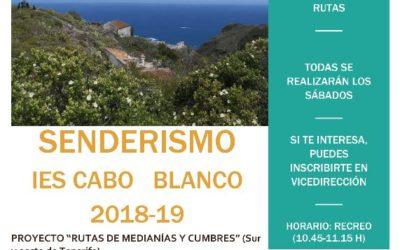 Grupo de senderismo del IES Cabo Blanco